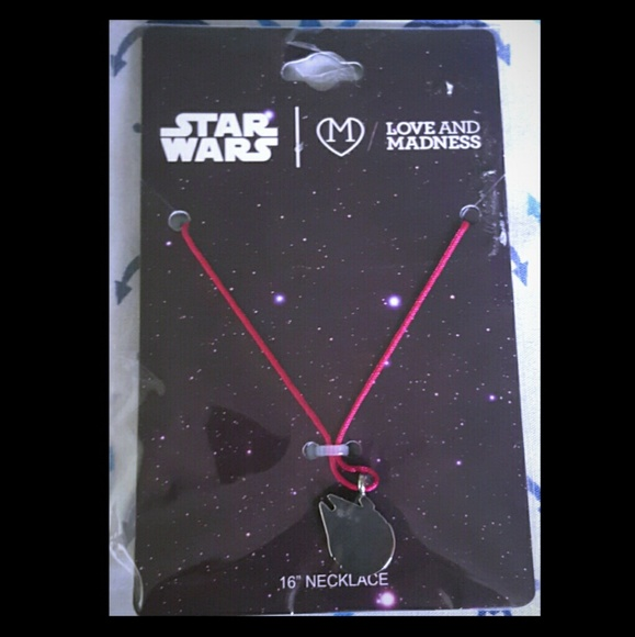 Love and Madness Jewelry - 🔥 Star Wars Millennium Falcon Silhouette Necklace